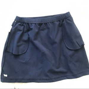 Vineyard Vines Bottoms - Girls Vineyard Vines Navy Blue Skirt Sz Small 7-8
